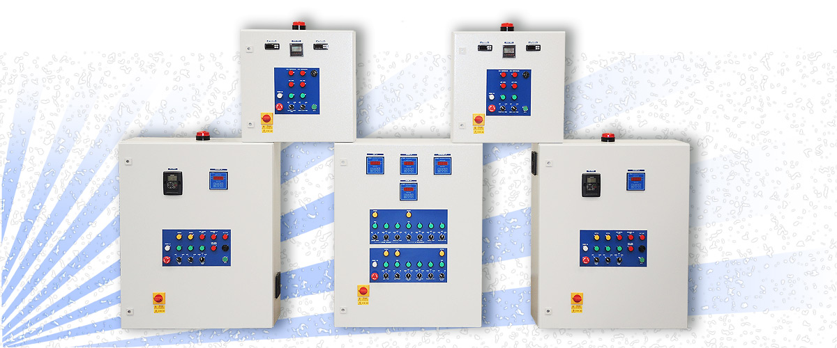 Control panels built by Automated Water & Effluent Ltd