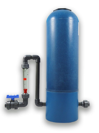 high pressure brominator BB12-FM with capacity of 12kg and flow rate from 40 - 400 litres per hour