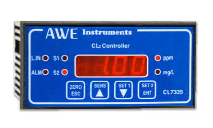 Compact Chlorine Controller CL7335