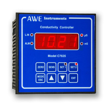 panel mounted conductivity controller C7635