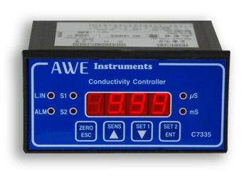 small panel mount conductivity controller C7335