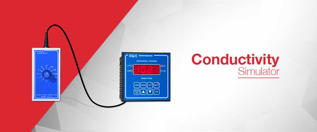 Conductivity simulator which generates conductivity values for use in the calibration and commissioning of conductivity instruments