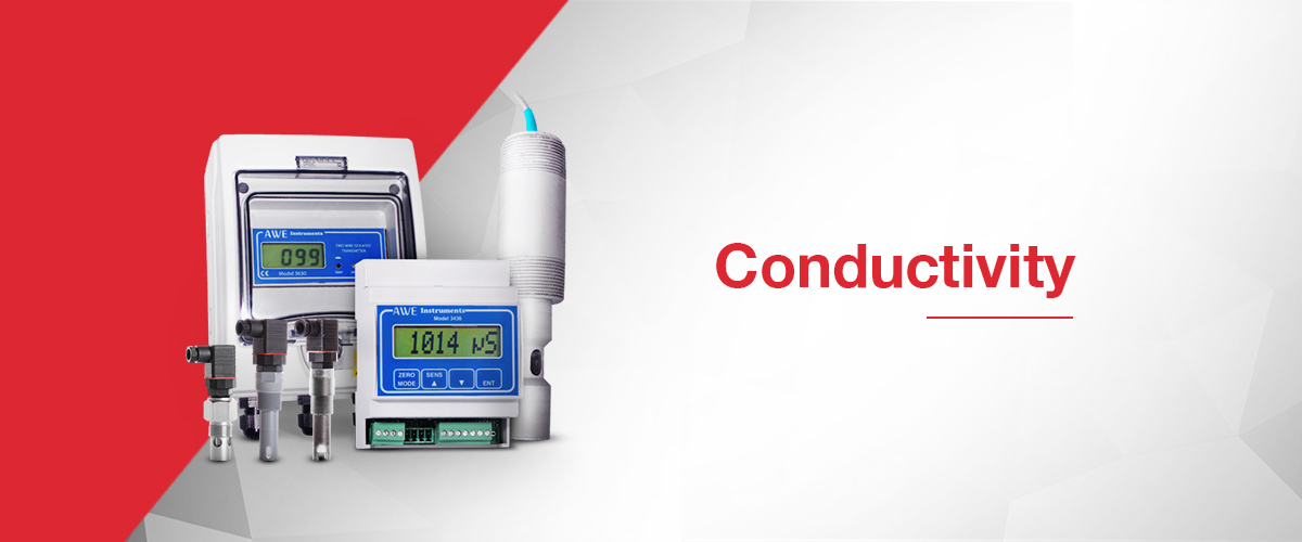 Conductivity instruments and conductivity sensors