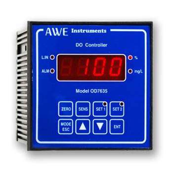 Dissolved Oxygen Controller OD7635 with 4-20mA output