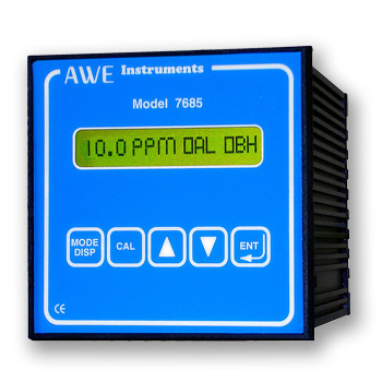 Dissolved Oxygen Controller with Auto-clean  OD7685