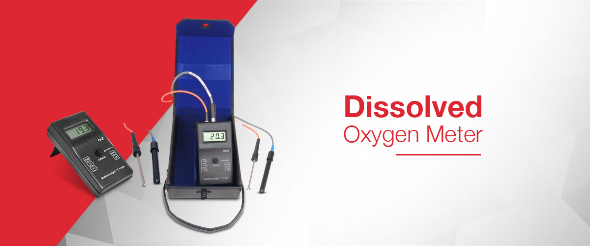 Portable Dissolved Oxygen Meter for making DO2 measurements