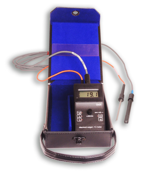 portable dissolved oxygen meter OX25