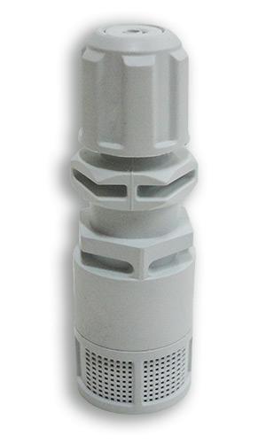 PVC Foot Valve for use with 4x6mm tubing and with integral non-return valve