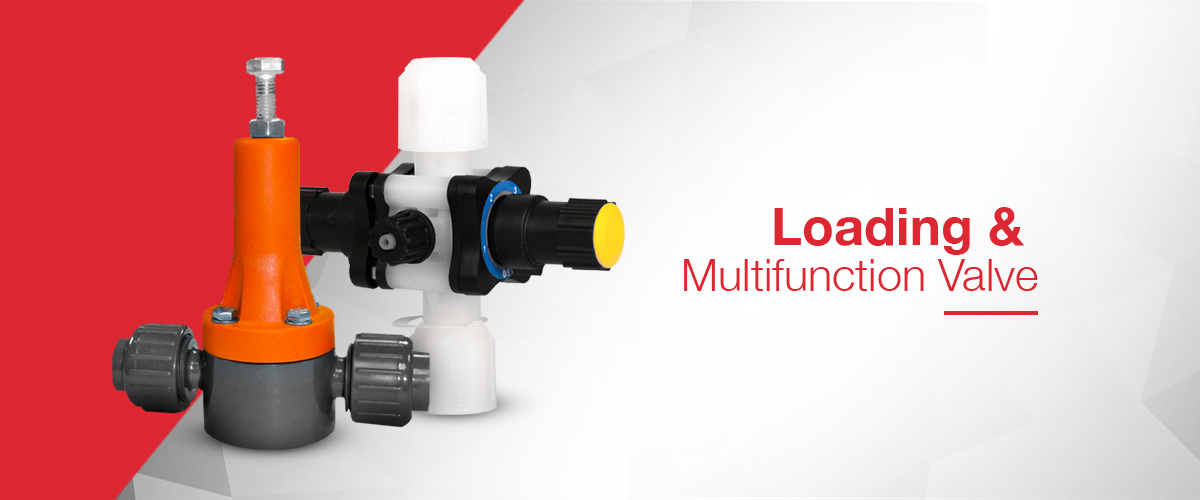 Loading Valves and multi-function valves which offer loading valve, anti-syphon valve and pressure relief valve