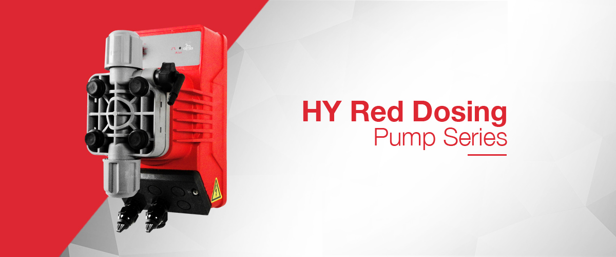 Small reliable chemical dosing pumps - the HY-Series