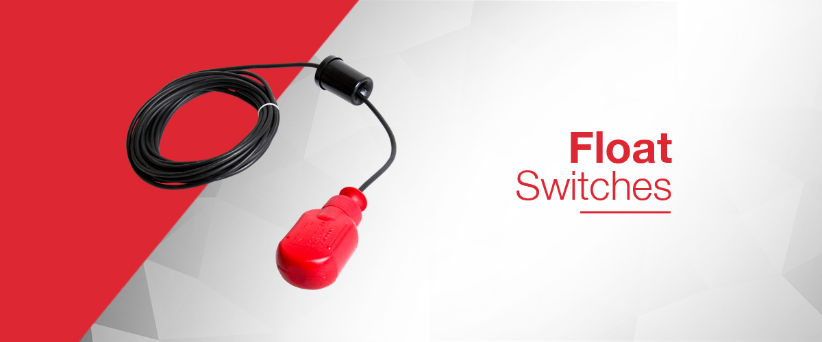 Float switches including suspended float switches and rigid float switch assemblies for process applications