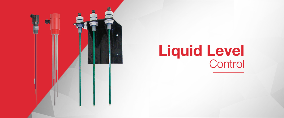 Liquid Level Controller instruments including conductive level electrodes, level controllers and float switches