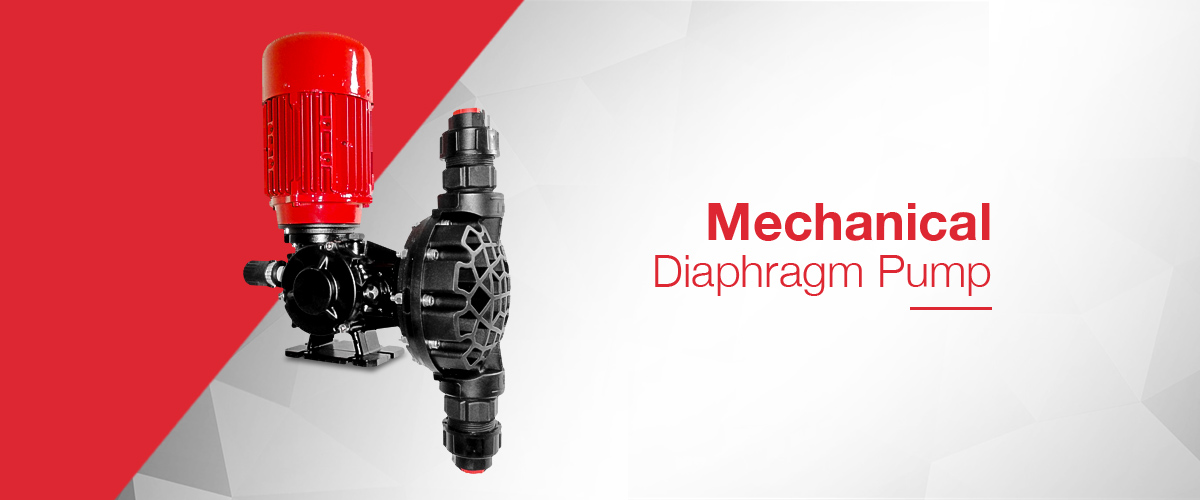 Mechanical diaphragm dosing pump range which offers precision chemical dosing for even concentrated chemical reagents.