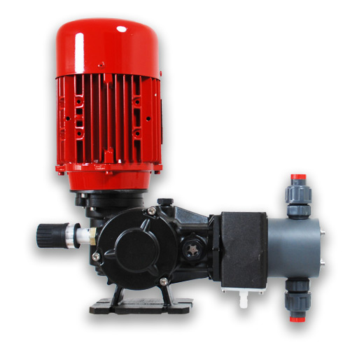 Piston Dosing Pump TAP25-54 with PVC head