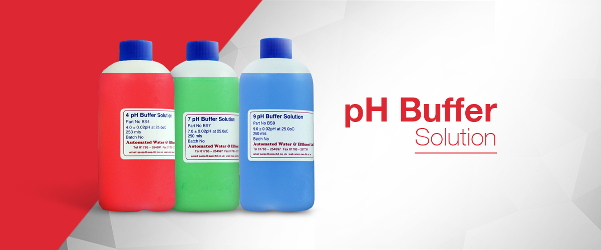 pH buffer solution for the calibration of pH electrodes and pH instruments