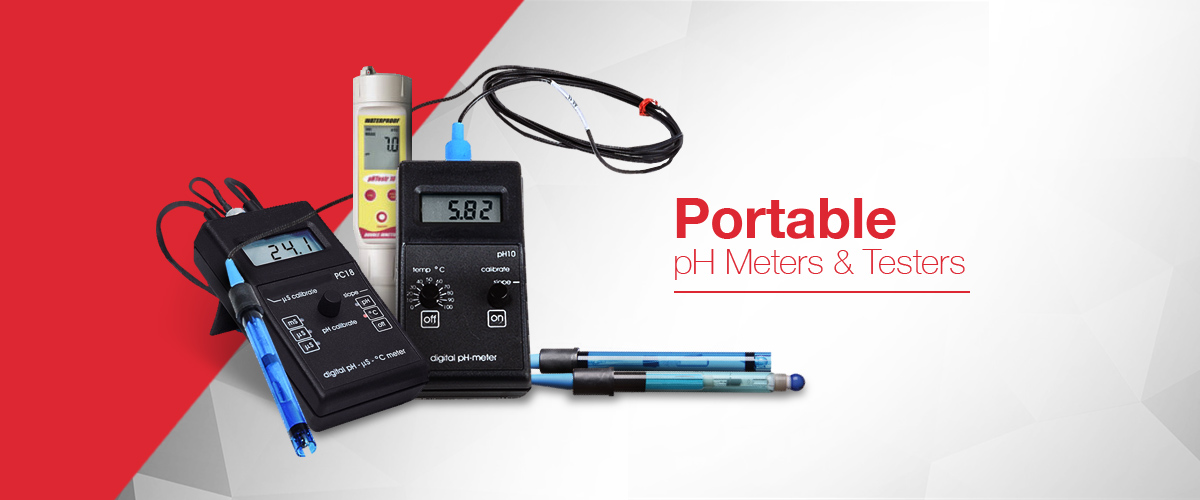 pH meter and portable pH meter