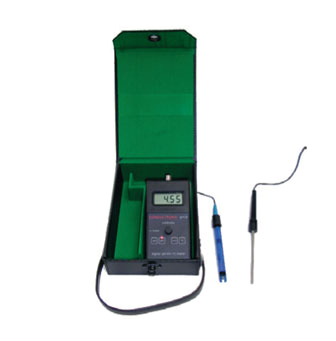 ph15 k Redox meter with Redox connector, BNC connector and temp sensor