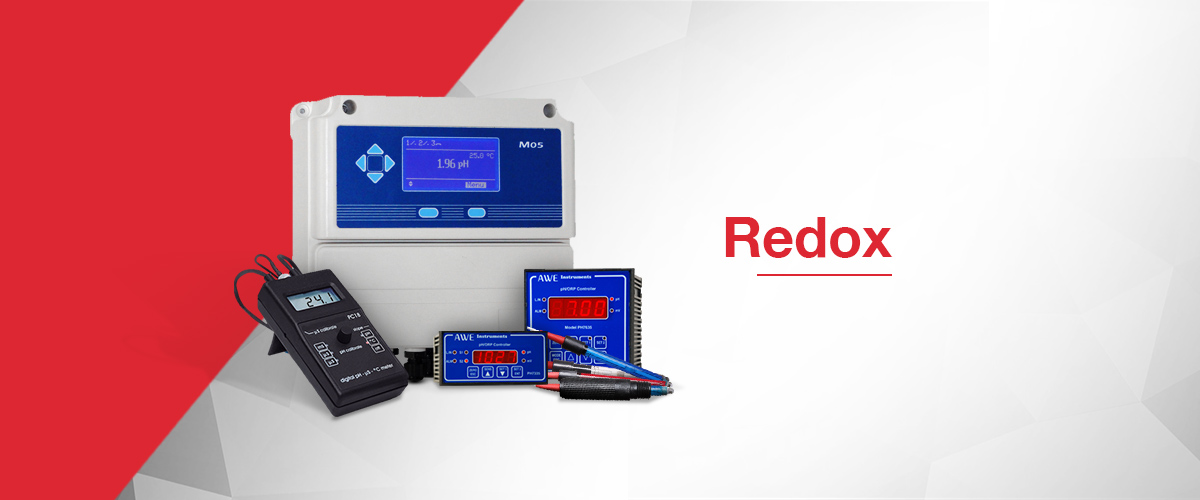 Redox electrodes and redox instruments for measuring and controlling Redox / ORP in process environments
