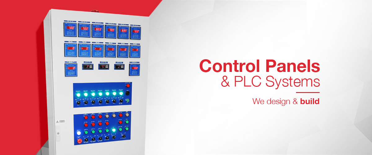 Control panel design and build for process automation