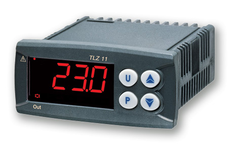 Panel mounted temperature controller model TLZ11