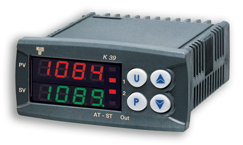 Temperature controller for panel mounting K39T