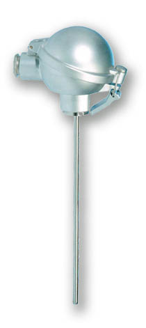 immersion temperature sensor with aluminium head TPA-2-A