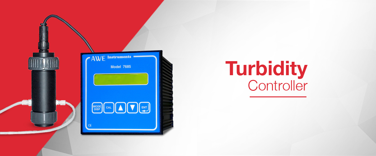 Turbidity Controller for the precision measurement and control of turbidity