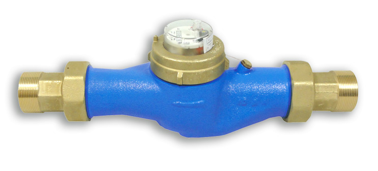 2 Inch or 50mm Water Meter for Cold Water