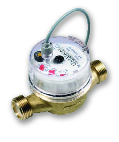 1/2 Inch or 15mm Water Meter for Hot Water